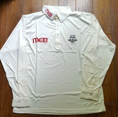 Signed Phil Neale Worcestershire County Cricket Club Shirt Large  • 34.99£