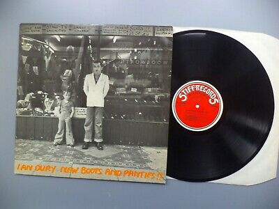 Ian Dury New Boots And Panties Vinyl Record LP • 3.20£