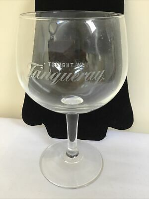 Tanqueray Gin Large Stemmed Balloon Glass • 3.60£