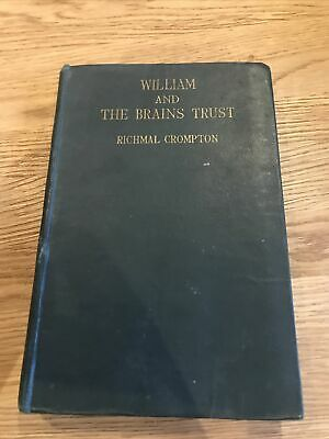 William And The Brains Trust By Richmal Crompton  First Edition 1945 Illustrated • 8£