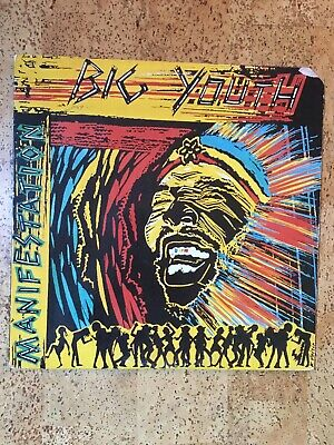Big Youth – Manifestation (Vinyl LP, Reggae Album) 1988 VG+/VG • 9.99£