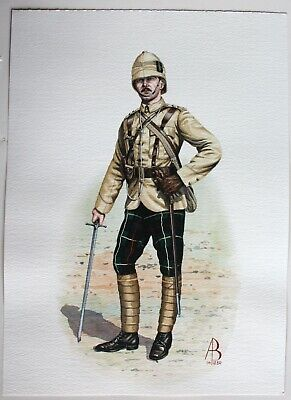 $99.95 • Buy  1899 Officer 1st Battalion The Highland Light Infantry Painting By ALIX BAKER!