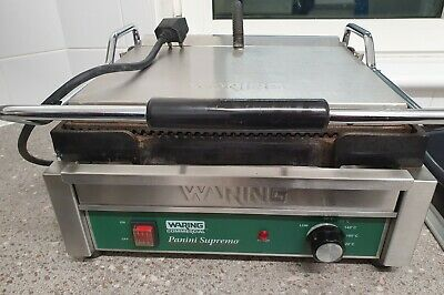Waring Commercial Panini  Supremo  Grill- Model WPG250K • 69.95£