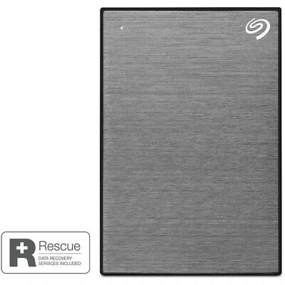 AU189 • Buy Seagate 5TB One Touch Portable Hard Drive (Grey) - Free Postage