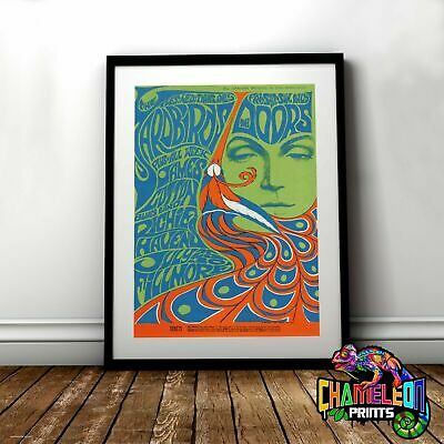 $18.99 • Buy The Doors Concert Vintage Poster Print In Pretty Home Decor Best Gift For Friend