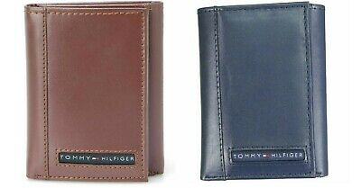 £24.99 • Buy Tommy Hilfiger Men's Premium Leather Credit Card ID Wallet Trifold 31TL11X033