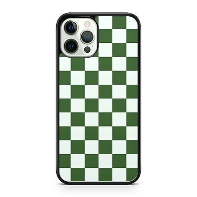 AU11.27 • Buy Green Fine White Colourful Squares Check Checkered Pattern Camo Phone Case Cover