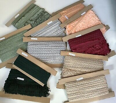 Job Lot Braid And Fringe Edging Trimming Lampshade Upholsary Furnishing • 21£