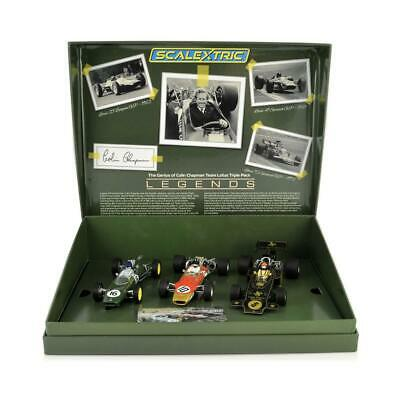 £114.95 • Buy SCALEXTRIC The Genius Of Colin Chapman - Lotus GP Triple Pack. C4184A