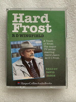 HARD FROST 2 Cassette Audio Book From A Touch Of  Frost -  Read By David Jason  • 2.25£
