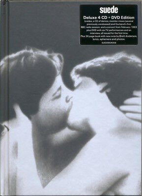 Suede  Suede  25th Anniversary 4cd+1dvd Box Set New+ Brett Anderson Signed Print • 77.55£