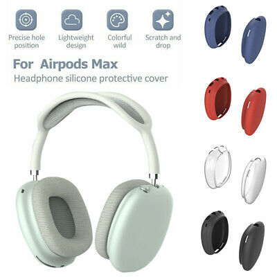 $ CDN6.32 • Buy For Apple AirPods Max Headphone Shockproof Silicone Full Body Frame Case Cover&