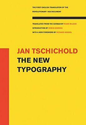 The New Typography (Weimar And Now: German Cultural Criticism New Paperback Book • 34.83£