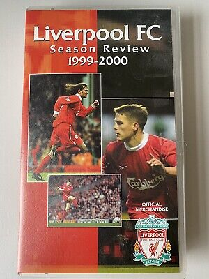 Liverpool FC Season Review 1999 2000 VHS Video. Official Merchandise. • 4.99£