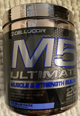 $25 • Buy Cellucor M5 Ultimate Post Workout Icy Blue Razz 20 Servings Exp 3/21