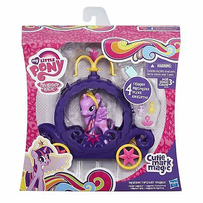 My Little Pony Cutie Mark Magic Princess Twilight Sparkle Charm Carriage • 19.99£