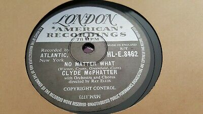 £15 • Buy CLYDE McPHATTER NO MATTER WHAT & JUST TO HOLD MY HAND LONDON HLE.8462