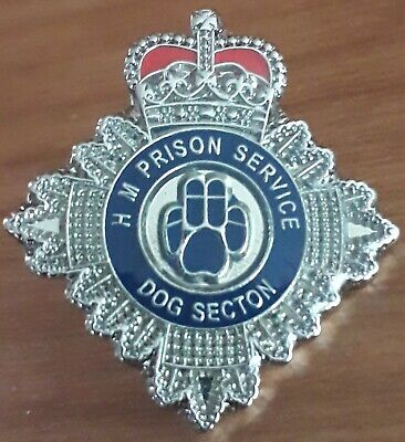 Hm Prison Service Dog Secton Pin Badge Hmp Dog Handler Pin Badge Mistruck Error • 4£