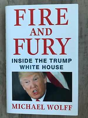 AU20.50 • Buy Fire And Fury: Inside Trump White House US President * FIRST EDITION * NEW