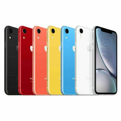 Apple IPhone XR 64GB AT&T Locked Smartphone 4G LTE • 195.35£