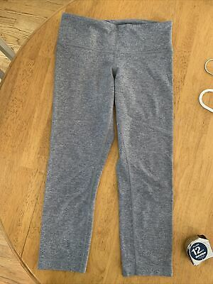 $ CDN31.70 • Buy Women's Gray Lululemon Leggings - Size 6