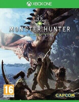 AU25.55 • Buy Monster Hunter World Xbox One New In Stock FAST POST