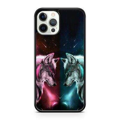 AU10.72 • Buy Cool Space Wolf Animals Twinkling Starry Milky Way Galaxy Space Phone Case Cover