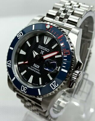 $ CDN189.33 • Buy Submariner Diver Style Watch Modded With Seiko Nh35 Movement & Ceramic Bezel