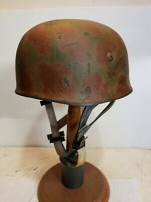 $149.99 • Buy WWII GERMAN M38 Paratrooper Sturm Rgt  HELMET W/Hand Aged Paint Work And Liner