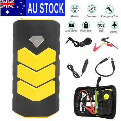 AU54.98 • Buy Portable Heavy Duty Car Jump Starter 12V Car Battery Charger Power Booster Pack