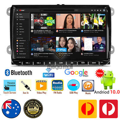 AU399 • Buy 9  NON-DVD Android 10.0 Car Stereo GPS Head Unit For VW Golf MK5 MK6 Caddy Jetta