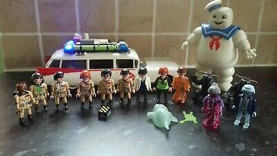 Ghostbusters Playmobil Ecto 1 Car And Figures • 23£