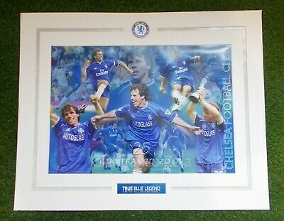 £15 • Buy Gianfranco Zola Chelsea FC Large Picture Display Mount