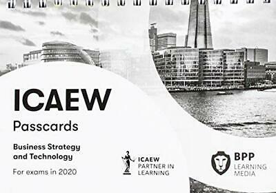 ICAEW Business Strategy And Technology: Passcards New Spiral-bound Book • 13.90£