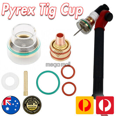 AU57.95 • Buy Pyrex Glass TIG Cup Kit 2.4mm FUPA - FURICK Style