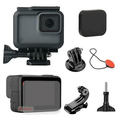 $ CDN14.92 • Buy Housing Case Tempered Glass Film Adapter Safety Buckle For Gopro Hero 5 6 7 $S1