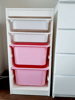 Ikea Children Storage Furniture With Boxes • 12£