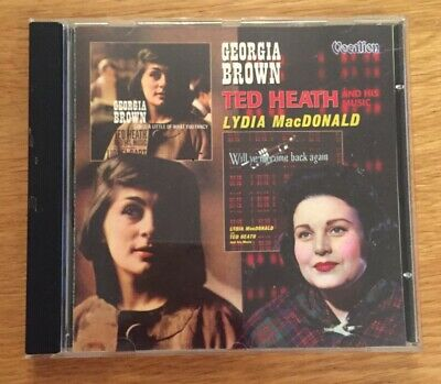 Georgia Brown : Sing A Little Of What You Fancy, Will Ye No Come Back Again CD • 1.40£