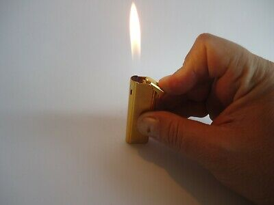 £43.45 • Buy VINTAGE PIEZO-ELECTRIC GAS LIGHTER ''WIN'' MODEL-9500-GOLD PLATED-1970's.-JAPAN