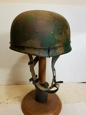 $149.99 • Buy WWII GERMAN M38 Paratrooper HELMET W/Hand Aged Paint Work And Liner