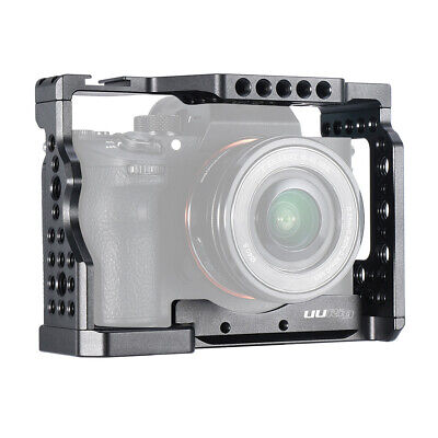 $ CDN36.48 • Buy UURIG C-A73 Camera Cage Aluminum Alloy Cold Shoe Mount For Sony A7III/A7R3/A7M3