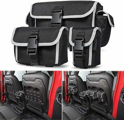 AU70.19 • Buy Molle Bags Car Seat Back Organizers For 2018-2021 Jeep Wrangler JL Rubicon