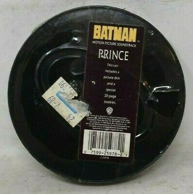 Prince Batman Motion Picture Soundtrack In Limited Edition Tin - Sealed CD&Book • 28.92£