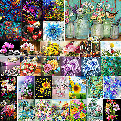 AU15.03 • Buy DIY 5D Full Drill Diamond Painting Embroidery Cross Stitch Kits Art Decor Gifts
