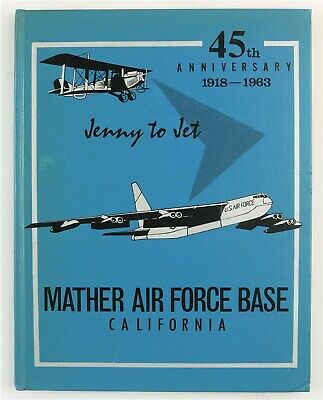 $149.95 • Buy Mather Air Force Base California 1963 Military History Year Book