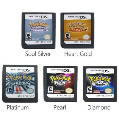 AU28.99 • Buy Pokemon HeartGold Soul Silver Game Card US Version For 3DS NDSI NDS NDSL Lite2