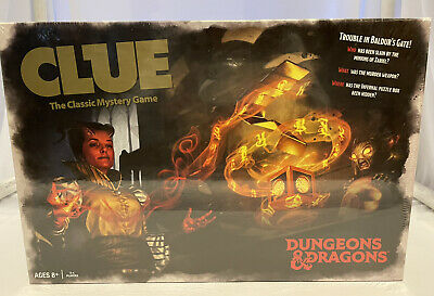 AU49.52 • Buy Dungeons & Dragons CLUE Board Game NEW SEALED
