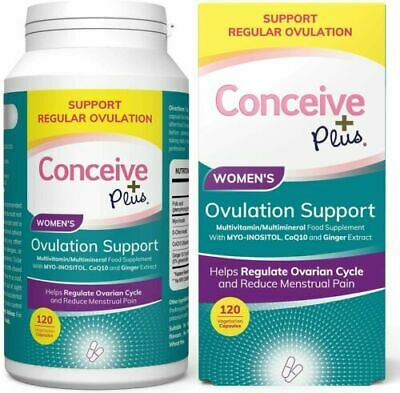 £24.99 • Buy Conceive Plus Ovulation PCOS Support 120 Caps