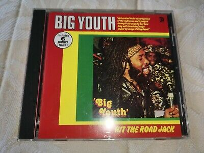 Big Youth(CD Album)Hit The Road Jack-Trojan 1995 • 3£