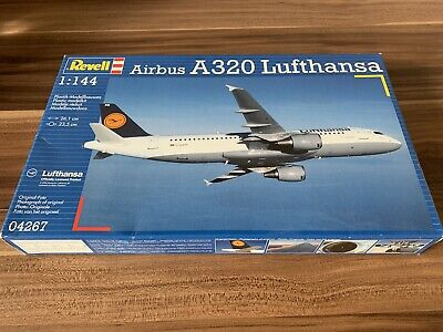 Revell 04267 Airbus A320 - Lufthansa Model Kit, Scale 1:144 • 20£
